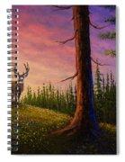 Sunrise Buck Spiral Notebook