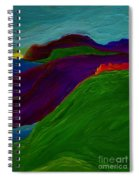 Sunrise Castle By Jrr Spiral Notebook