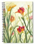 Sunrise Flowers Spiral Notebook