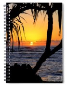 Sunrise Fuji Beach Kauai Spiral Notebook