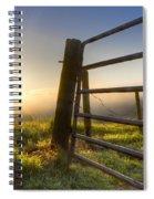 Sunrise  Gate Spiral Notebook