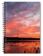 Sunrise Glory Spiral Notebook