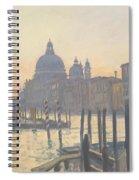 Sunrise Grand Canal Spiral Notebook