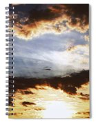 Sunrise Heaven Spiral Notebook