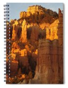 Sunrise In Bryce's Fairyland Spiral Notebook