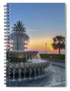 Sunrise In Charleston Spiral Notebook