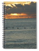 Sunrise In Florida Riviera Spiral Notebook