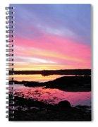 Sunrise In Maine Spiral Notebook