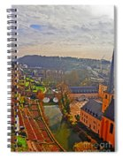 Sunrise In Old Town Spiral Notebook