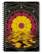 Sunrise In Paradise Pop Art Spiral Notebook