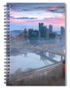 Pittsburgh Fall Day Spiral Notebook