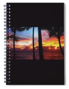 Sunrise In Queensland 1 Spiral Notebook