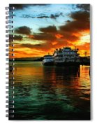 Sunrise In San Francisco Spiral Notebook