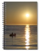 Sunrise In Stone Harbor New Jersey Spiral Notebook