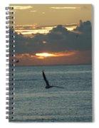 Sunrise In The Florida Riviera Spiral Notebook
