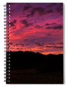 Sunrise In The Foothills Spiral Notebook