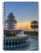 Sunrise In The Lowcountry Spiral Notebook