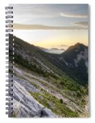 Sunrise In The Pyrenean Catalonia Spiral Notebook