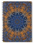 Sunrise Kaleidoscope Spiral Notebook