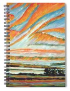 Sunrise Les Eboulements Quebec Spiral Notebook