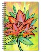 Sunrise Lily Spiral Notebook