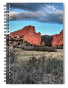 Sunrise Of The Gods Spiral Notebook