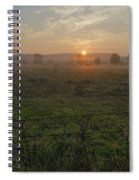 Sunrise On A New Day Spiral Notebook