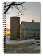 Sunrise On Birch Spiral Notebook