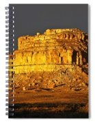 Sunrise On Fajada Butte Spiral Notebook