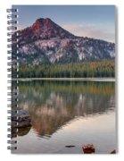 Sunrise On Gunsight Mountain Spiral Notebook