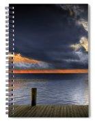 Sunrise On Key Islamorada In The Florida Keys Spiral Notebook