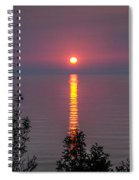 Sunrise On Middle Island Spiral Notebook