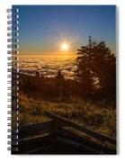 Sunrise On Mount Mitchell Spiral Notebook