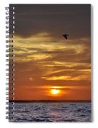 Sunrise On Tampa Bay Spiral Notebook