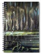 Sunrise On The Bayou Spiral Notebook