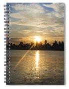 Sunrise On The Big Apple Spiral Notebook