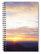 Sunrise On The Colorado Plateau Spiral Notebook