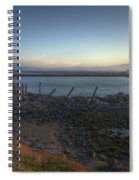 Sunrise On The Coquille River Spiral Notebook