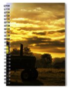 Sunrise On The Deere Spiral Notebook