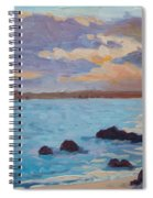 Sunrise On The Grotto Spiral Notebook