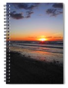 Sunrise On The Gulf Spiral Notebook