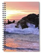 Sunrise On The Horizon Spiral Notebook