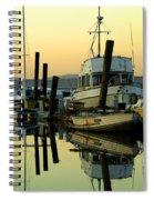 Sunrise On The Petaluma River Spiral Notebook