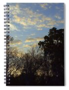Sunrise On The River Spiral Notebook