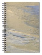 Sunrise On The River Ice #2 Spiral Notebook