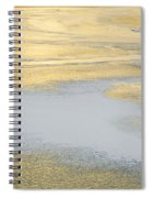 Sunrise On The River Ice Spiral Notebook