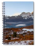 Sunrise On The San Juans Spiral Notebook
