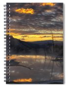 Sunrise On The Terrace Spiral Notebook