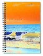 Sunrise On Tybee Island - Photopower 168 Spiral Notebook
