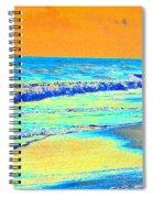 Sunrise On Tybee Island - Photopower 170 Spiral Notebook